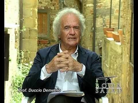Autobiografia - Prof. Duccio Demetrio - YouTube