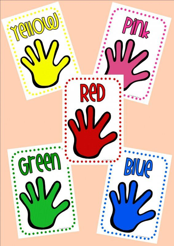 Coloured Hands posters