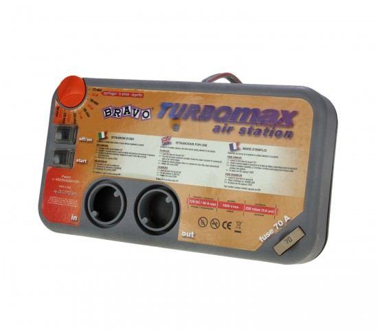 Насос Bravo TURBO MAX электрический, 12В, с сумкой  Максимальное рабочее давление:                                      0,25 бар