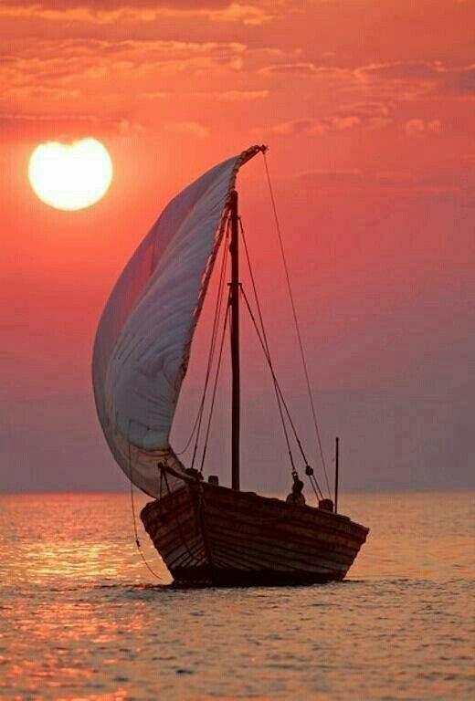 sun sea sailboat