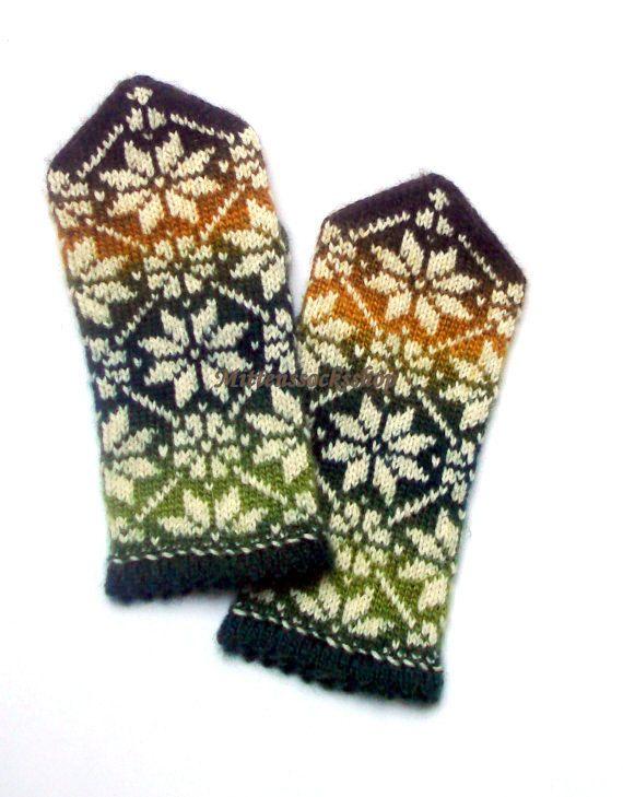 Hand gestrickte Wolle Fäustlinge-Warm und stylish, große und bunte Accessoire bei kaltem Wetter!  Wunderbare Geschenk-Fäustlinge für Ihre lieben!  Fäustlinge Größe:  S-großes Kind oder Frau klein Frauen Größe M-medium L-große Frauen oder Männer Gr. s Große Herren Größe XL- XXL--sehr große Größe Herren   Diese Handschuhe bestehen aus Batik Garn und das unsichtbare, aber einen schönen Farbübergang erzeugen. Dieses Garn, zwei Paar Handschuhe gestrickt wird nicht identisch gleich, sondern werden…