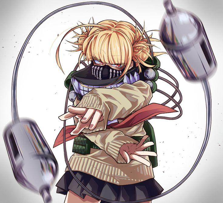 Himiko Toga launch syringe Anime My Hero Academia Himiko