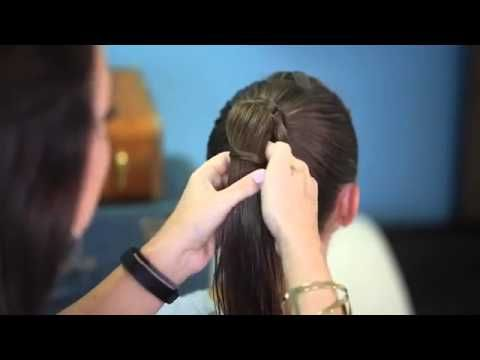 Chinese Staircase Braid | Back-to-School Hairstyle - YouTube