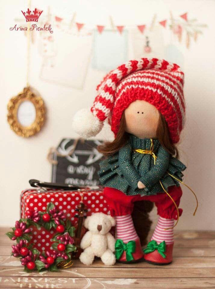 Bambola natalizia
