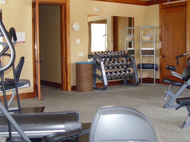Home office and gym design ideas