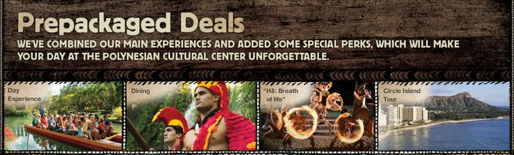 BEST package deal $180 for the whole shibang, island tour, and prime dining at Polynesian Cultural Center.