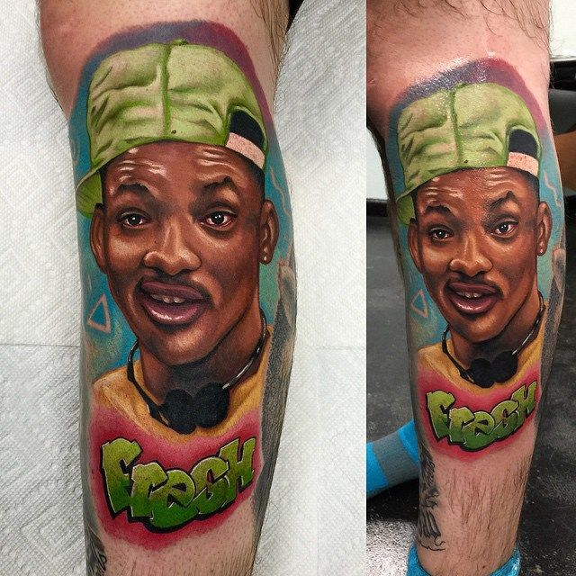 Fresh Will Smith tattoo