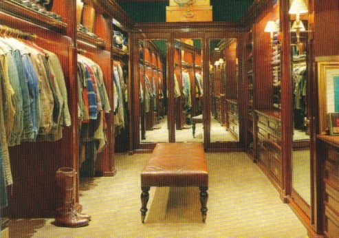 That's a big closet
