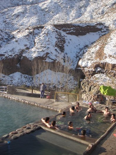 One of my favorite places in the world!!!  Termas cacheuta en invierno - Ciudad de Mendoza, Argentina