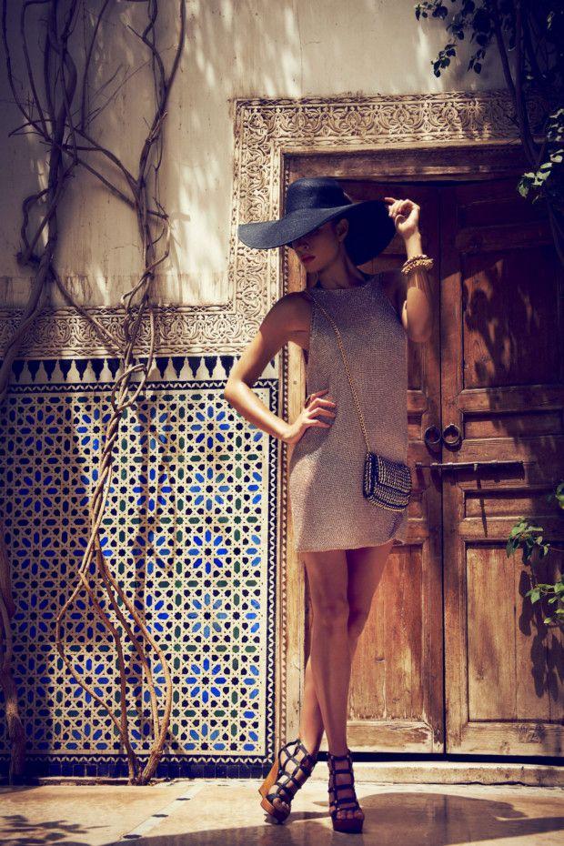 Kookai Spring Summer 12/13 Campaign featuring Nicole Trufino and Ilona Novacek | fashionfile
