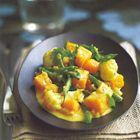 Curry van pompoen en bloemkool - recept