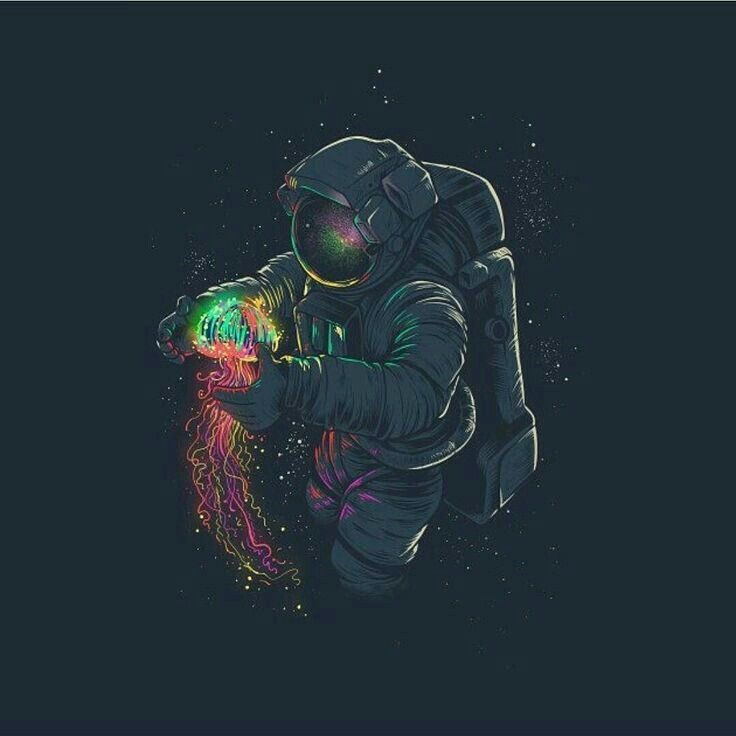 Awesome Jellyspace Design On TeePublic