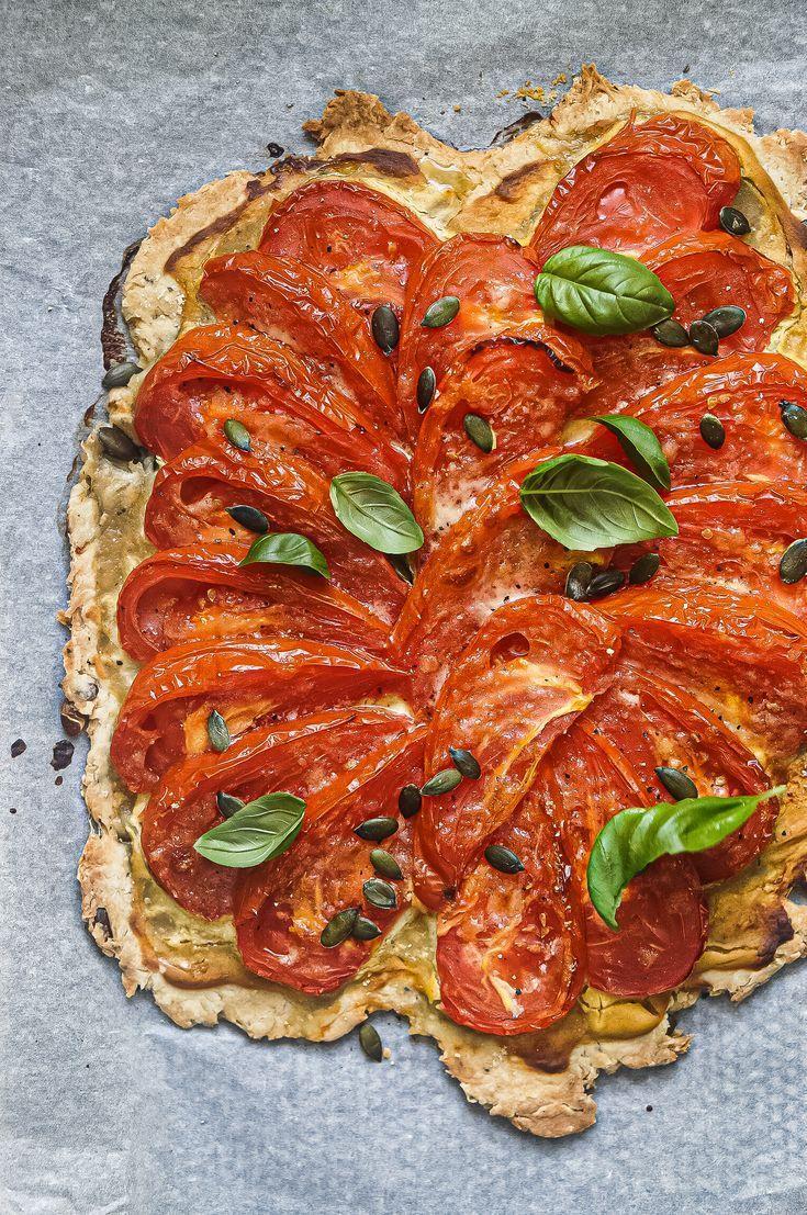 Tarte rustique à la Tomate et Moutarde   plateauraclette ...