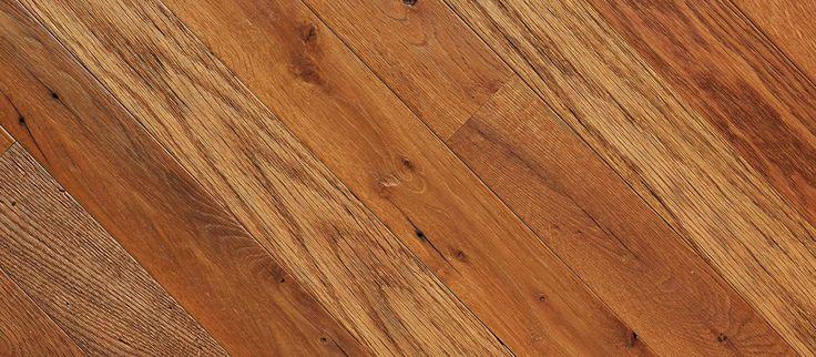 Toasted Grains - Reclaimed Oak Flooring - Artisan Brushed
