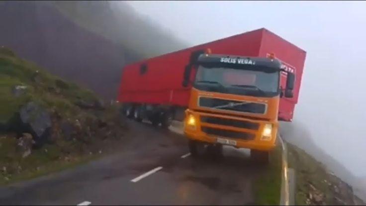Amazing Trucks Driving Skills On Mountain Roads | Extreme Drivers