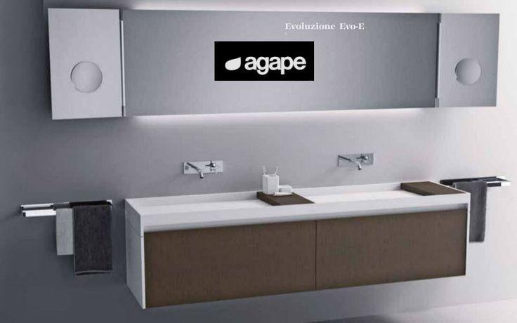 Bagni moderni con doppio lavabo mobile con doppio lavabo - Lavabo angolare con mobile ...