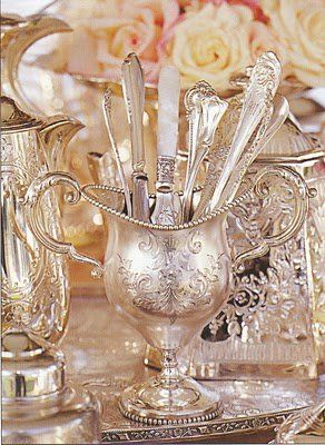 Silver goes with everything. Don't be afraid to mix and match utensils as they…