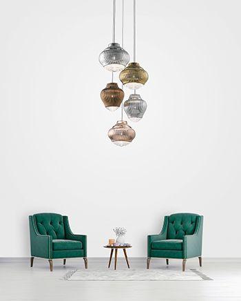 ZafferanoBespoke Glass Lighting nuove collezioni 2018 a