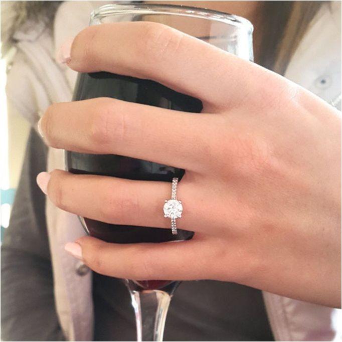 25 Minimalist But Elegant Engagement Ring Ideas 41 Big