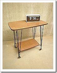 Industriele vintage bijzettafel side table Pilastro stijl