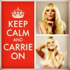 Keep Calm and.... Carrie ON : )