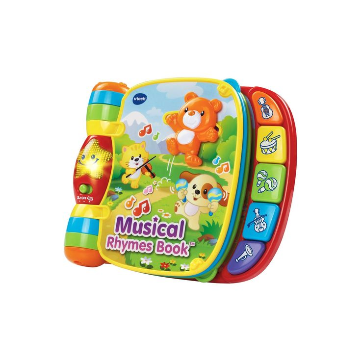 VTech Musical Rhyme and Discover Book,