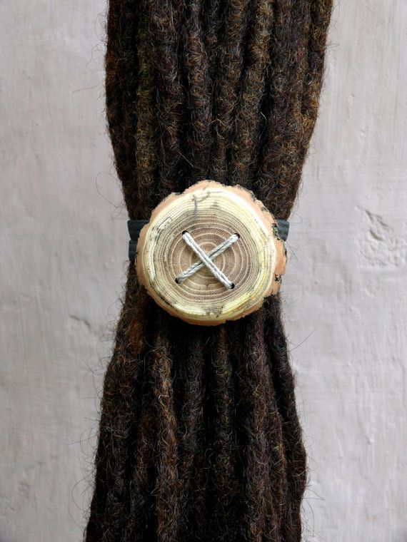 Hair tie https://www.etsy.com/listing/231220686/together-were-one-giant-wooden-hair