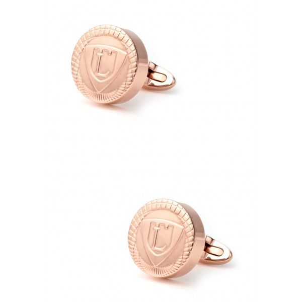 OPERA PRIMA Cufflinks is a limited edition of man jewellery made by LANCASTER in stainless steel 316L material. OPERA PRIMA is avalaible in rose gold and black color plated.