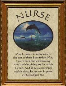 Free Nurse Poems   Nurse Plaque Personalized Poem Gift Plaques Bookmarks Ornaments Note ...