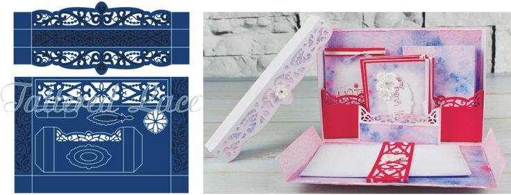 Tattered Lace Essentials Stationery Box Die Set ETL72