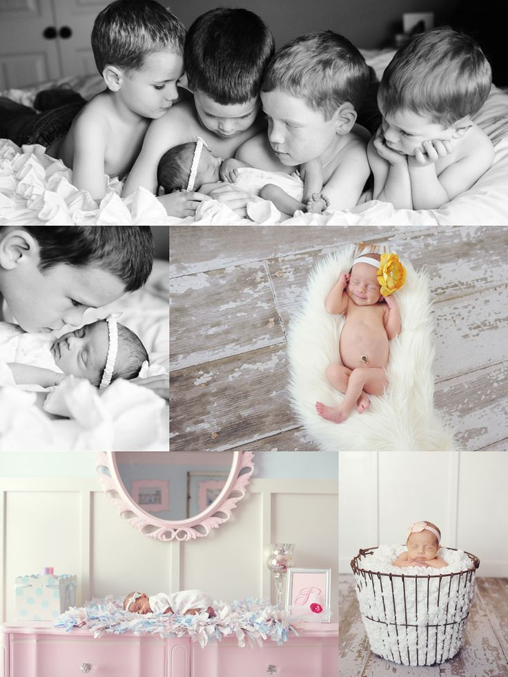 lifestyle newborn with siblings