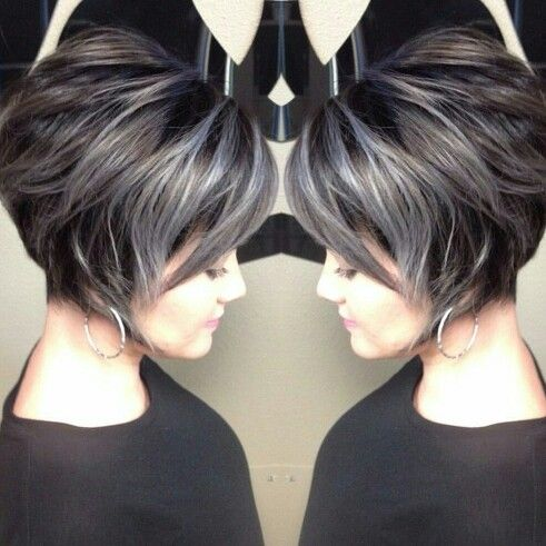 Grey gorgeousness by Kaitlyn @ J&Frank- Professional Hairstylists