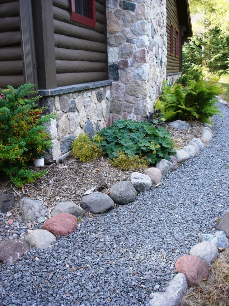 Gravel rock landscaping home u003e rock u003e landscape for Landscaping rocks vancouver wa