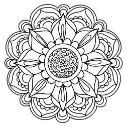 Mandala Floral #17                                                       …