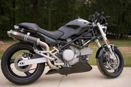ducati monster 600 city dark