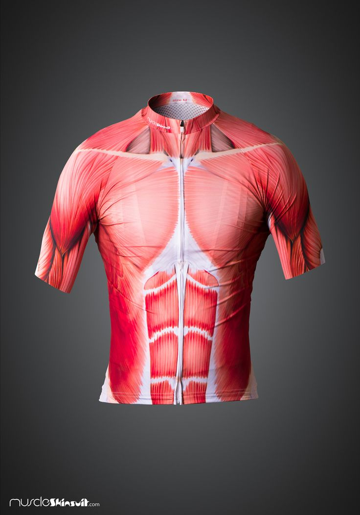 https://flic.kr/p/NwAKW2 | muscle cycling jersey - front view | more info about this product on: muscleskinsuit.com/Muscle_cycling_kit