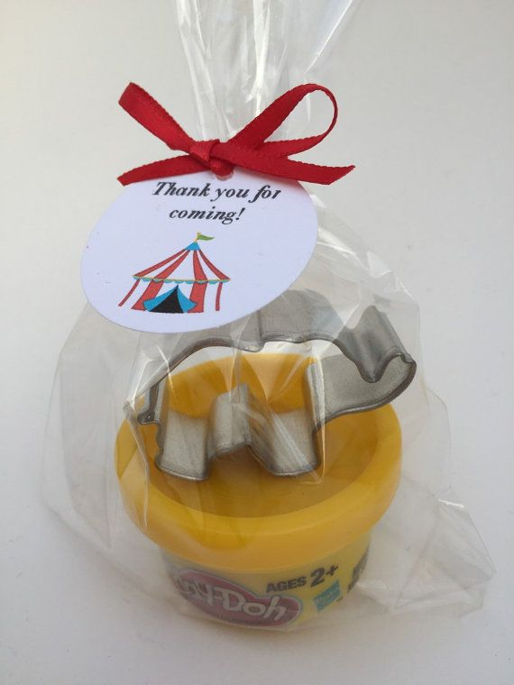 Carnival Party Favor Circus Party Favor by MadHatterPartyBox