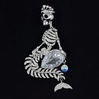 *Silver mermaid skeleton ~~