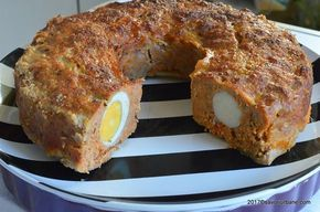 Chiftea festiva cu oua fierte la cuptor - Stefania Savori Urbane