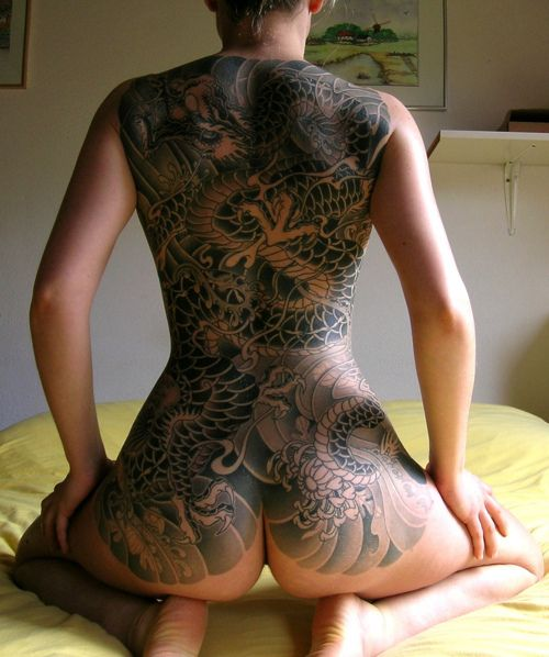 Asian gallery photo tattoo woman The