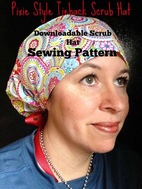 Scrub Hat Sewing Pattern Tutorial New Diy Puffy Pixie