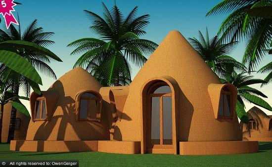casas de bambu sencillas - Buscar con Google