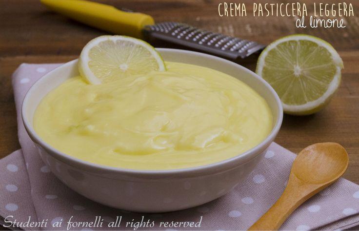 crema leggera al limone con 2 uova ricetta per torte crostate e biscotti