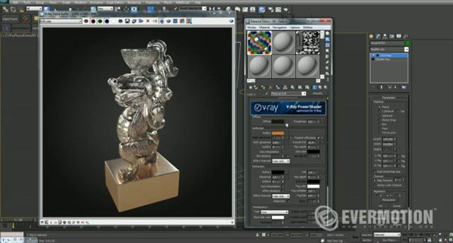 Tip of the Week. V-ray materials - V-ray blend material by EVERMOTION. This is the next part of a V-ray materials tip of the week series. In this part You can learn how to achieve some cool multimaterials effect by using V-ray blend material.