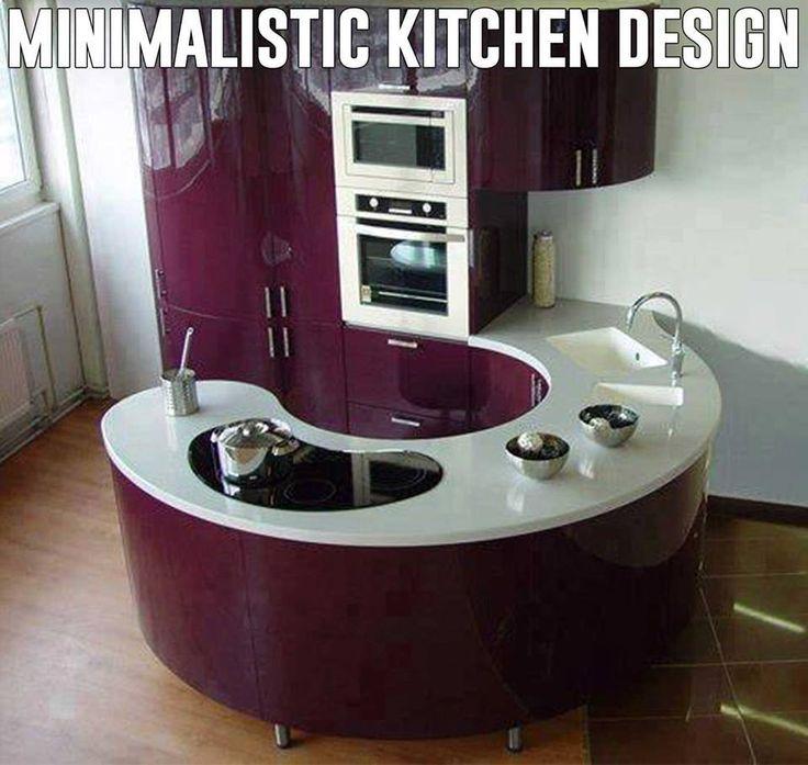 Minimalistic kitchen design