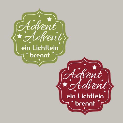 Advent, Advent ein Lichtlein brennt, Weihnachten, Etikett, Stampin´Up! Stempeln, Craft, basteln, stampin https://www.facebook.com/Colorspell