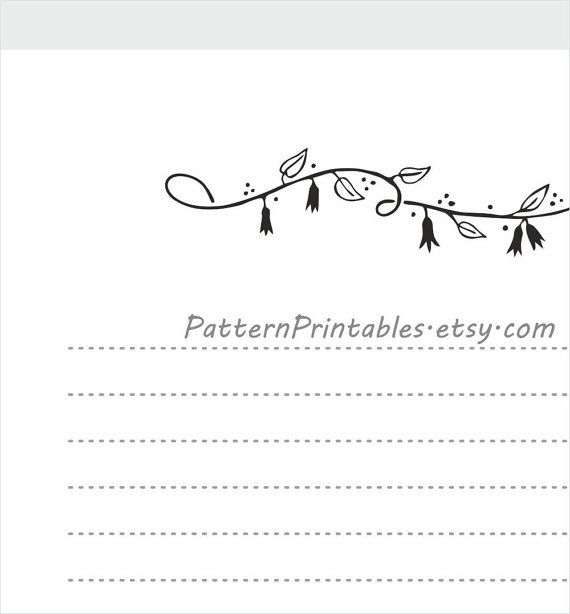 69 best Printable Letter Writing Papers images on Pinterest - lined letter paper