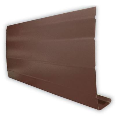 Best Peak Aluminum Fascia Cover Brown 1 Inch X 8 Inches X 400 x 300