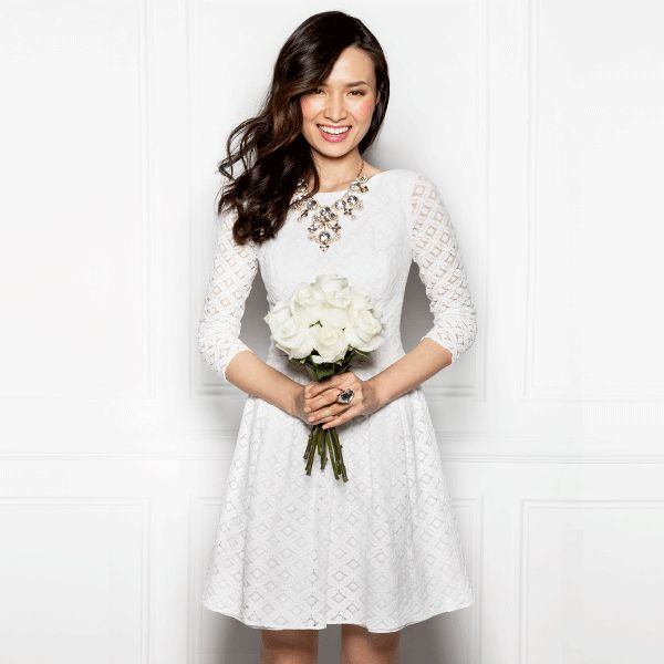"""One less """"to-do"""" before the """"I do's"""": Find a handpicked selection of designer dresses for engagement parties, bachelorette bashes, the big day, and beyond at Rent The Runway. Now receive $25 off your first rental, with FIRSTRTR25X754."""