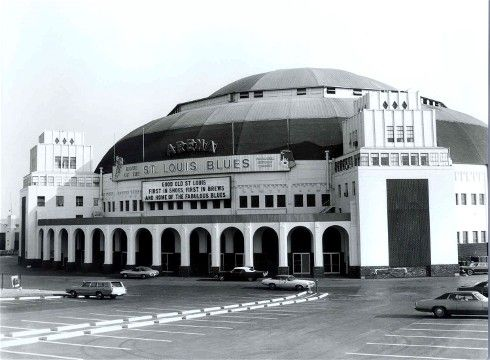 St. Louis Arena - 1970's